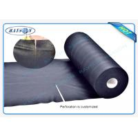 China Black Garden Weed Control Fabric For MaintainTemperature To Benefit Healthy Growth Weed Control wholesale