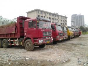 China CE 31t Heavy Duty Dump Truck , 336hp 8x4 Dump Truck wholesale
