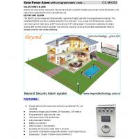 Loud Lighting Contactor: Solar Battery Powered Pir Motion Sensor Alarms With