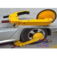 China Weather Resistant Passenger Car Wheel Clamps Lock With Adjustable Unique Keys wholesale