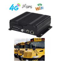 China 1080P 4G 3G GPS WIFI Dual SD Card Mobile Vehicle DVR  H.264 For Bus wholesale