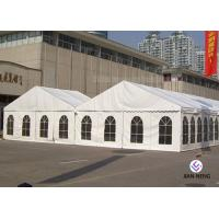 Buy cheap 12x30 Meter Fire Retardant Church Tent 3m / 5m Bay Distance Aluminum Frame from wholesalers