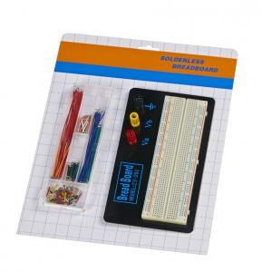 China Aluminum Plate Electronics Breadboard Kit 70 Pcs Jumper Wires Kits wholesale