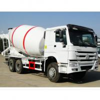 China 336hp Engine 6×4 Howo Concrete Mixer Truck Steel Structure With 10cbm Tanker wholesale