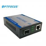 China 1port 1000M PSE + 1port 1000M MM 1KM SFP Fiber Media Converter wholesale