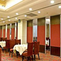 China Acoustic Movable Soundproof Sliding Absorption Partition Wall Banquet Hall Door Divider wholesale