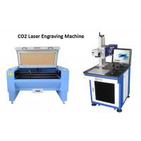 China Beverage Package CO2 Laser Engraving Machine For Without Consumables Cost wholesale