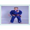 Quality BJJ Gi Kimono Brazilian Jiu Jitsu Gi Mens Sportswear in Black , Blue , White for sale