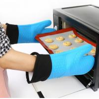 China Waterproof Silicone Hand Gloves Cotton Inside Heat Insulation Hand Protection wholesale