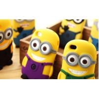 China Despicable me 2 minions 3d silicone soft case, despicable me 2 silicone case for mobile wholesale