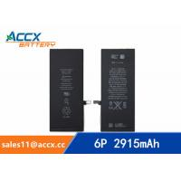 China ACCX brand new high quality li-polymer internal mobile phone battery for IPhone 6Puls with high capacity of 2915mAh 3.8V wholesale