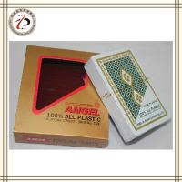 China 100% NEW PLASTIC PLAYING CARDS CUSTOM DESIGN on sale