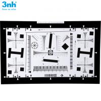 China Iso 12233 Resolution Test Chart  2000 Lines Reflectance Test Card 3nh Brand NQ-10-400A 4X wholesale