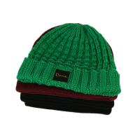 China Popular unisex warm all colors customize woven label winter knitted boonies hats wholesale
