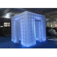 China Flexible Inflatable Photo Booth -20 To 60 Degrees Working Temp With Curtain wholesale