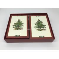 China Square Jumbo Pre Wrapped Christmas Gift Boxes  All Sizes Offset Printing Semi Auto Made wholesale