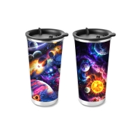 China 450ml PP Cup 3D Lenticular Printing Service For Promotion Gifts wholesale