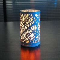 China A senior craftsman Elaborate colourful glass and Iron material size D95*H165cm  LED Table lamp. wholesale