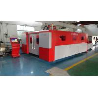 Accomplish the Complicated Process Sheet Metal Laser Cutting Machine for SS / CS 42 m / min