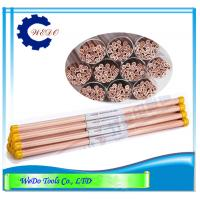 China Multi Hole EDM Electrode Copper Tube 1.5mm Copper Pipe For EDM Drilling Machine on sale