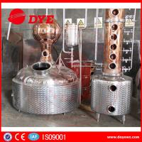 China Stainless Steel / Red Copper Column Whisky Alcohol Stills CE Approval on sale