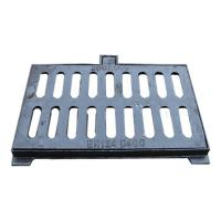 China B3050G Ductile cast iron drain grid cover with frame 300x500mm heavy duty EN124 standard gully grating on sale