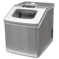 China 18Kg Stainless Steel Mini Automatic Ice Maker Machine , Potable Commercial Countertop Ice Maker on sale