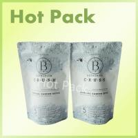 China Bathorium 600g Charcoal Garden Resealable Matte Ziplock Stand Up Bags wholesale