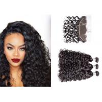 China 3 Bundles Brazilian Water Wave Human Hair , Long Water Wave Weave Human Hair wholesale