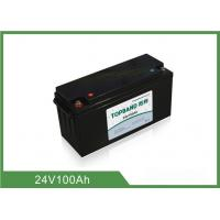 China 24V 100AH Lithium Iron Phosphate Deep Cycle Battery OEM Acceptable wholesale