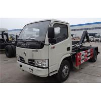Buy cheap Hook Lift Garbage Waste Removal Trucks Carbon Steel With 4 CBM Hopper from wholesalers