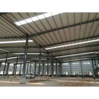 China Easy Assemble Light Weight Warehouse Steel Structure Single Or Double Span wholesale
