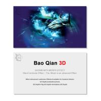 China Durable 3D Lenticular Business Card Printing Animation Effect For Promotion wholesale