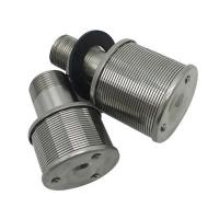 China SS wedge wire screen sand filter nozzle for water treatment on sale