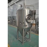 AISI 304 Stainless Steel Beer Fermenter With Jacketed For Brewery / Jacketed Fermentation Tank