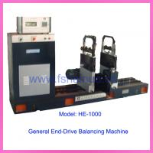 China End-Drive Horizontal Dynamic Balance Machine Belt-Drive Horizontal Dynamic Balance Machine(HBE-1000) on sale