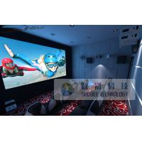 China 10 Persons 5D Cinema Equipment With Genuine Leather Motion Chair wholesale