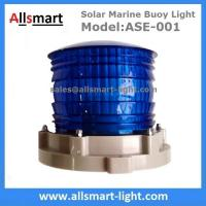 China 2-3NM Solar Marine Warning Light Solar Beacon Lantern Solar Signal Lamp for Ports & Harbors Marinas Aquaculture Offshore wholesale