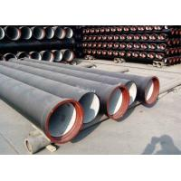 China High Strength Ductile Iron Cement Lined Pipe ISO2531 BSEN545 BSEN598 SGS on sale
