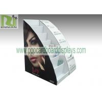 China Cosmetic table displays cardboard cosmetic displays sunglasses displays with customized design  ENCD004 wholesale