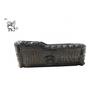 China Natural Solid Stone Black Marble Bathtub Freestanding For Sale wholesale
