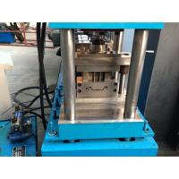 China Wall Board  Shutter Roll Forming Machine with Punching 56mm Shaft wholesale