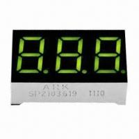 China Three Digits 0.36 Inch LED Numeric Display, Used for Multifunction Air Conditioner Controllers wholesale