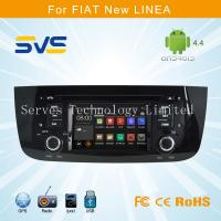 Quality Android 4.4 car dvd player with GPS for FIAT LINEA / PUNTO 4.3 inch with Ipod car stereo for sale