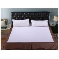 China Fashion Washable White King Size Bed Skirt / Hotel Collection Bedding wholesale