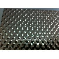 China Embossed Stainless Steel Sheets / 304 Stainless Sheet Checked Surface Finish wholesale