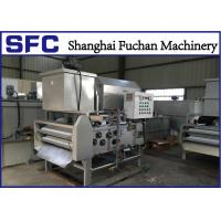 China Sludge Belt Filter Press Dewatering Unit For Petrochemical Wastewater Treatment on sale