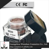 China Cream Pure Plant Semi Permanent Makeup Pigments / Light Brown Tattoo Pigment wholesale