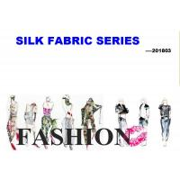 China Silk Fabric Collection 201805  WX  #FCH1-  #GSM- wholesale