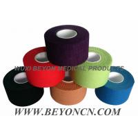 China Cotton Adhesive Rigid Black Sports Tape Athletic Trainer